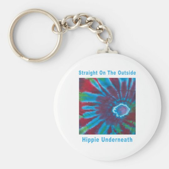Straight on the Outside, Hippie Underneath Keychain
