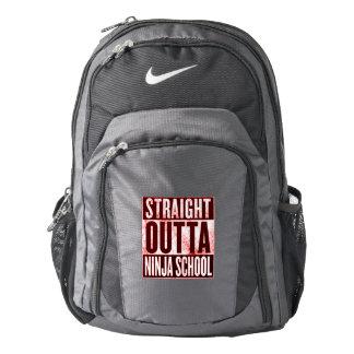 Straight Out of Ninja School Nike Backpack