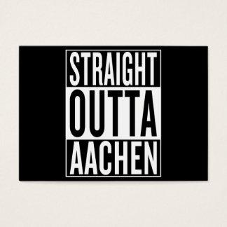 straight outta Aachen Business Card