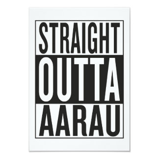 straight outta Aarau Card