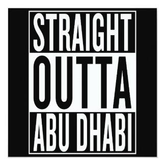 straight outta Abu Dhabi Card