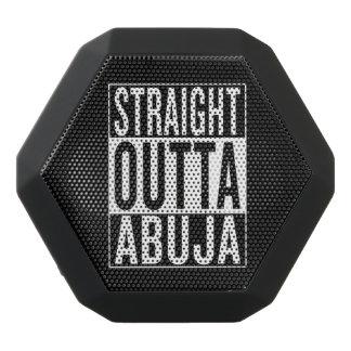 straight outta Abuja Black Bluetooth Speaker