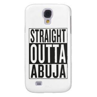 straight outta Abuja Galaxy S4 Cover