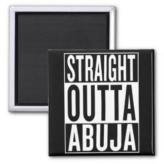 straight outta Abuja Magnet