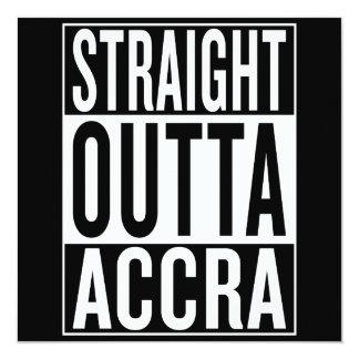 straight outta Accra Card