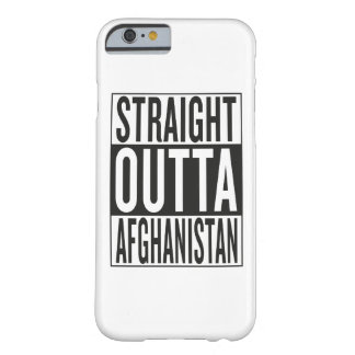 straight outta Afghanistan Barely There iPhone 6 Case