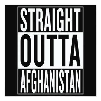 straight outta Afghanistan Card