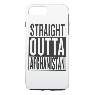 straight outta Afghanistan iPhone 7 Plus Case