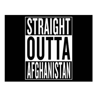 straight outta Afghanistan Postcard
