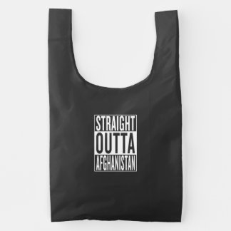straight outta Afghanistan Reusable Bag