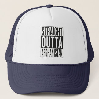 straight outta Afghanistan Trucker Hat