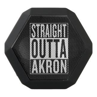straight outta Akron Black Bluetooth Speaker