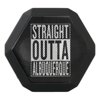 straight outta Albuquerque Black Bluetooth Speaker