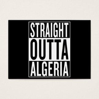 straight outta Algeria Business Card