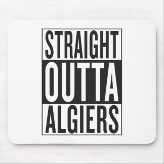 straight outta Algiers Mouse Pad