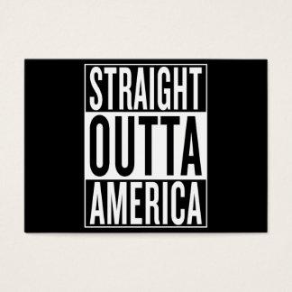 straight outta America Business Card