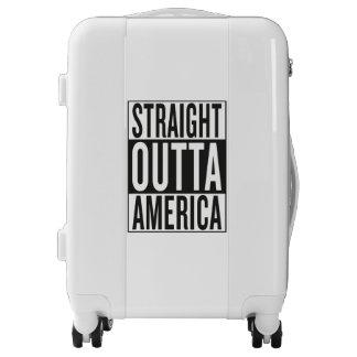 straight outta America Luggage