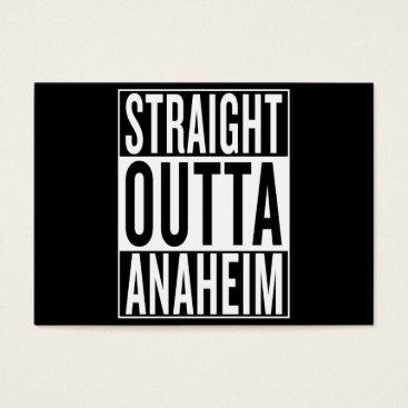 USA Themed straight outta Anaheim Business Card