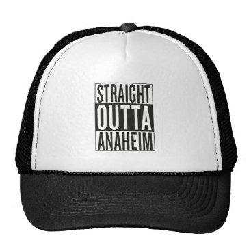 USA Themed straight outta Anaheim Trucker Hat