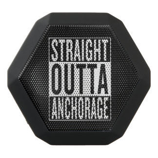straight outta Anchorage Black Bluetooth Speaker