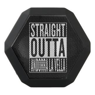 straight outta Andorra la Vella Black Bluetooth Speaker