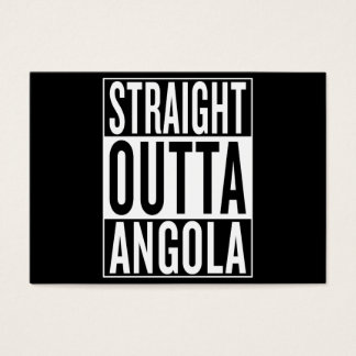 straight outta Angola Business Card