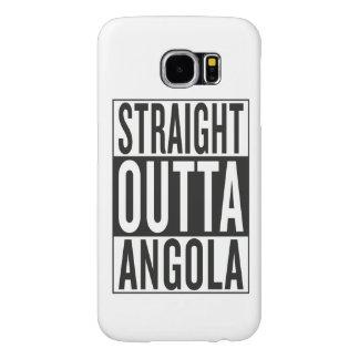 straight outta Angola Samsung Galaxy S6 Case