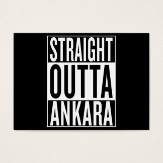 straight outta Ankara Business Card