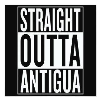 straight outta Antigua Card