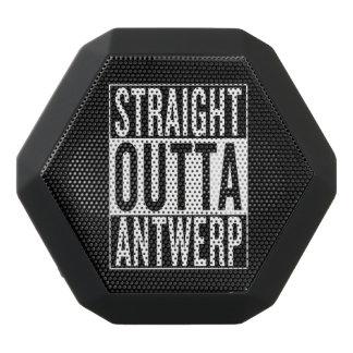 straight outta Antwerp Black Bluetooth Speaker