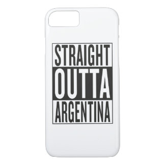 straight outta Argentina iPhone 7 Case