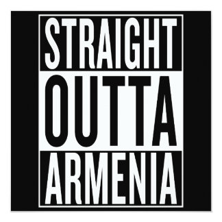 straight outta Armenia Card
