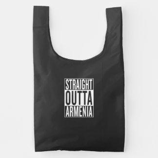 straight outta Armenia Reusable Bag