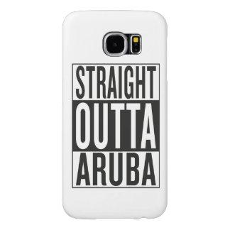 straight outta Aruba Samsung Galaxy S6 Case