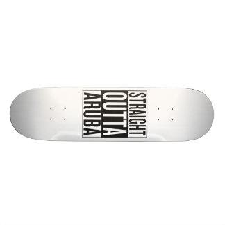 straight outta Aruba Skateboard Deck
