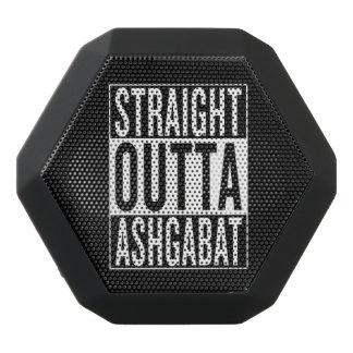 straight outta Ashgabat Black Bluetooth Speaker