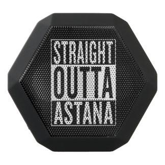 straight outta Astana Black Bluetooth Speaker