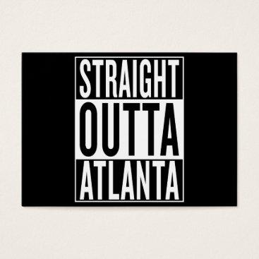 USA Themed straight outta Atlanta Business Card
