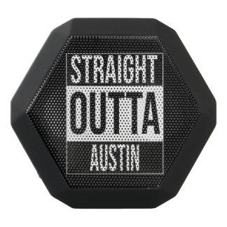 Straight Outta  Austin, #Austin Black Bluetooth Speaker