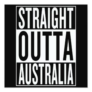 straight outta Australia Card