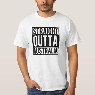 Straight Outta Australia funny shirt