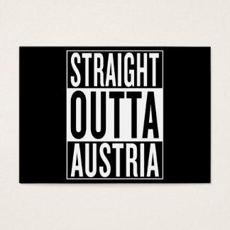 straight outta Austria Business Card