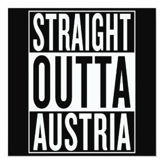 straight outta Austria Card