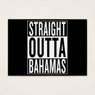 straight outta Bahamas Business Card