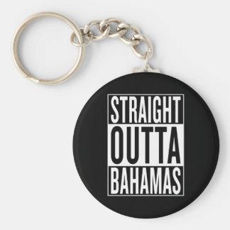 straight outta Bahamas Keychain