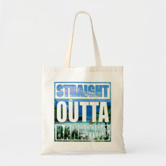 Straight Outta Bahamas Tote Bag