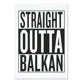 straight outta Balkan Card