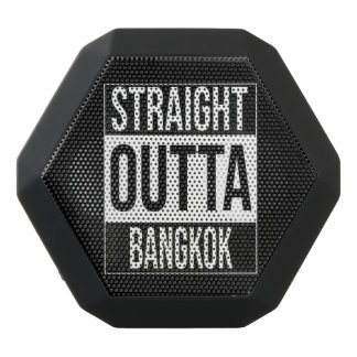 Straight Outta  Bangkok, #Bangkok Black Bluetooth Speaker