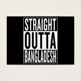 straight outta Bangladesh Business Card