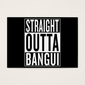 straight outta Bangui Business Card